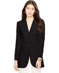 Lauren by Ralph Lauren Silk-Linen Jacket - Lyst