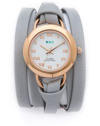 La Mer Collections - Round Wrap Watch - Lyst
