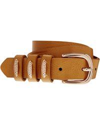 Asos Curve Western Plate Keeper Waist Belt - Lyst
