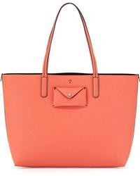 Marc By Marc Jacobs Metropolitote Saffiano-Leather Tote Bag - Lyst