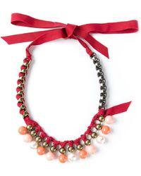 Lanvin 'Acapulco' Short Necklace - Lyst