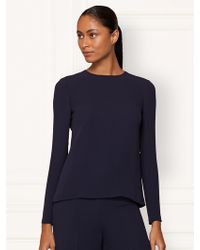 Ralph Lauren Collection Silk Marcella Top - Lyst
