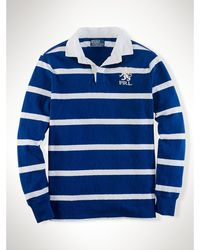 Polo Ralph Lauren Custom Striped Griffin Rugby - Lyst