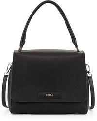 Furla Patty Medium Leather Shoulder Bag - Lyst