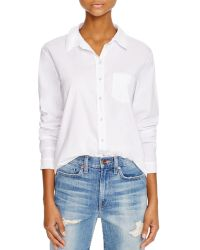 Stateside - Contrast Back Oxford Shirt - Bloomingdale's Exclusive - Lyst