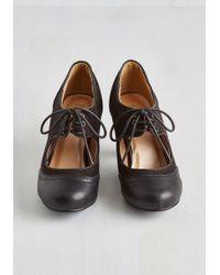 T.U.K. - It's A Sure Fete Heel In Black - Lyst