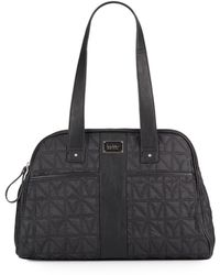 Nicole Miller - City Life Quilted Tote Bag - Lyst