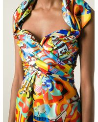 Moschino Candy Print Dress - Lyst