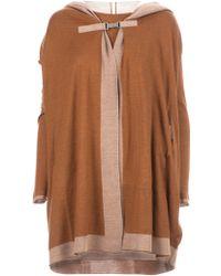 Maison Ullens Hooded Cardi-Coat - Lyst