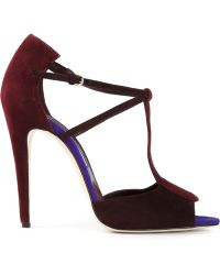 Brian Atwood Sandy Sandals - Lyst