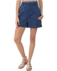 Marc By Marc Jacobs Classic Cotton Pleated Short - Lyst