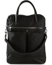 Hope For Men Black 'Major' Tote - Lyst