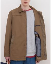 Pull&Bear Technical Trench Coat - Lyst