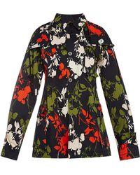 Peter Som Scattered Floral Jacket - Lyst