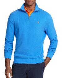 Polo Ralph Lauren Pima Half-Zip Pullover - Lyst