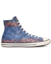 Converse Women'S Chuck Taylor All Star Fancy Missoni Hi Casual Sneakers From Finish Line - Lyst