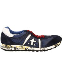 Premiata Lucy Sneakers Suede and Nylon - Lyst