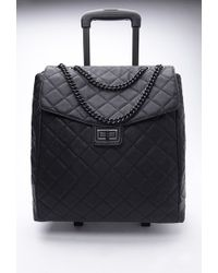 Forever 21 - Quilted Faux Leather Roller Bag - Lyst