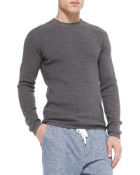 Vince Long-sleeve Thermal Shirt - Lyst