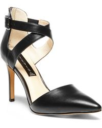 Steven by Steve Madden Alicia Leather Pumps - Lyst
