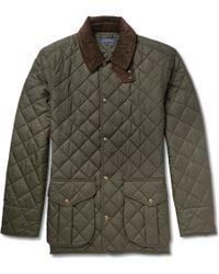 Polo Ralph Lauren Danbury Corduroycollar Quilted Jacket - Lyst
