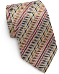 Missoni Printed Silk Tie - Lyst