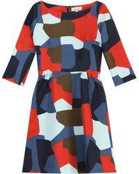 Paul & Joe Printed Short Dress - Lyst