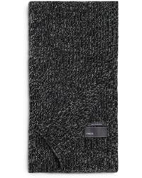 Vince - Ribbed Marl Cashmere Scarf - Lyst