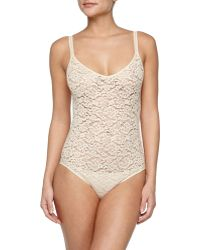 Hanro Messina Stretch-Lace Bodysuit - Lyst