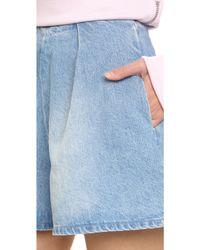 Edit - Denim Shorts - Lyst