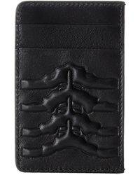 Alexander McQueen Rib Cage Card Holder - Lyst