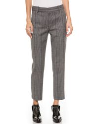 3.1 Phillip Lim Glen Plaid Pencil Pants  Multi - Lyst