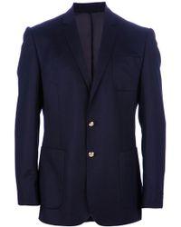 Aquascutum Blue Jacket - Lyst