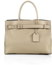 Reed Krakoff Rk40L Milled-Leather Satchel - Lyst