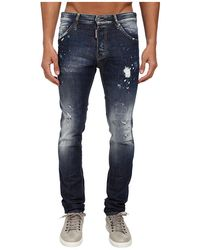 DSquared2 Blue Blur Wash Cool Guy Jean - Lyst