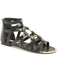 Steve Madden 'Cirrcle' Studded Gladiator Sandal - Lyst