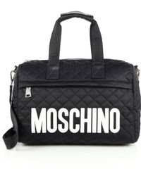 Moschino - Quilted Nylon Large Duffel Bag - Lyst