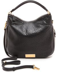 Marc By Marc Jacobs Washed Up Billy Hobo Bag  Faded Aluminum - Lyst