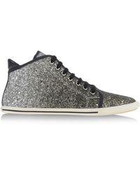 Marc Jacobs Black Glitter Mid-Top Sneakers JJT5x8qka