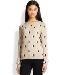 Chinti & Parker Queen Of Hearts Cashmere Intarsia Sweater - Lyst
