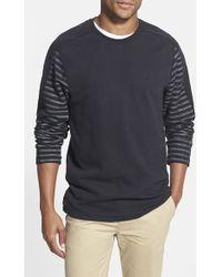 Volcom 'Bronzen' Crewneck Sweatshirt black - Lyst