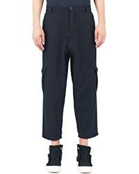 MariusPetrus - Wool Cargo Pants - Lyst