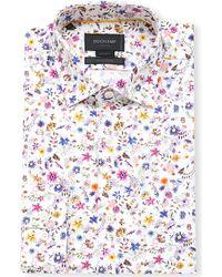 Duchamp Petit Floral Cotton Shirt - For Men - Lyst