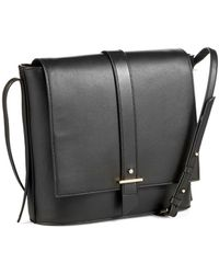 Cole Haan Crossbody Saddle Bag - Lyst