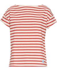 Orcival - Breton-stripe Cotton T-shirt - Lyst