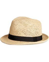 H&M Straw Hat - Lyst