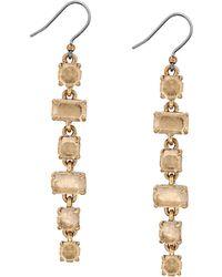 Lucky Brand - Stone Linear Earrings - Lyst