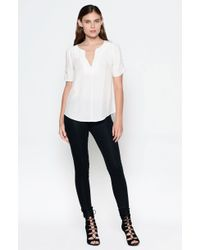 Joie Amone Top white - Lyst