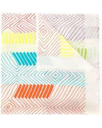 K. Janavi - 'polychromatic Zone' Scarf - Lyst