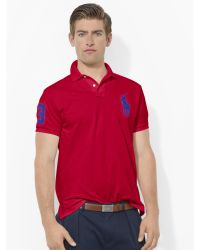 Polo Ralph Lauren Custom-fit Big Pony Polo Shirt - Lyst